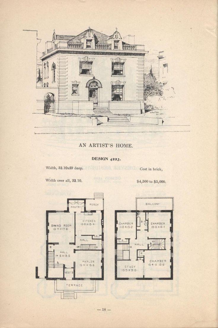 Best Floorplans Images On Pinterest Vintage Houses Floor