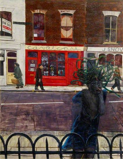 Carel Weight. The Battersea Medusa.