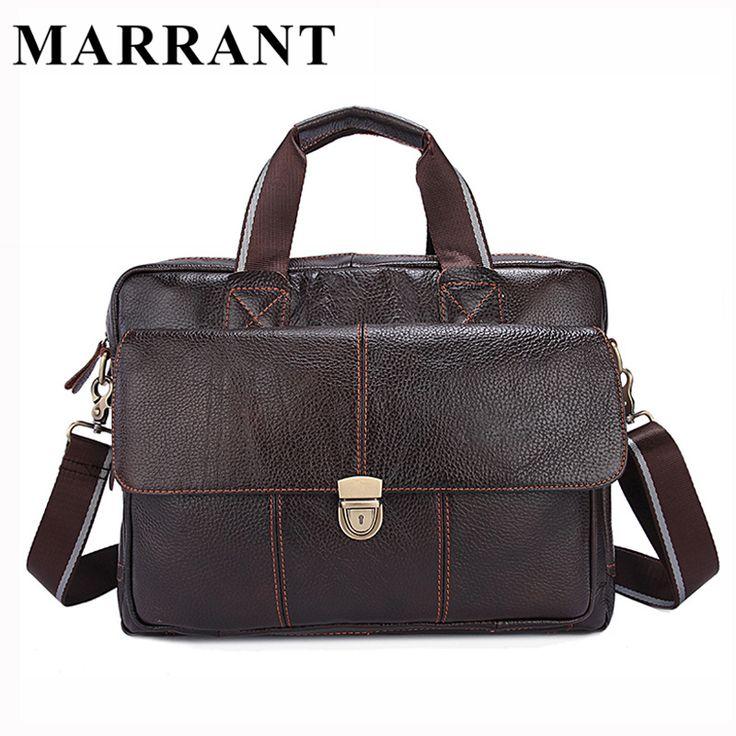 MARRANT Genuine Leather Men Bags Hot Sale Man Messenger Bag Cowhide Leather Men's Briefcase Male Crossbody Shoulder Handbag 315