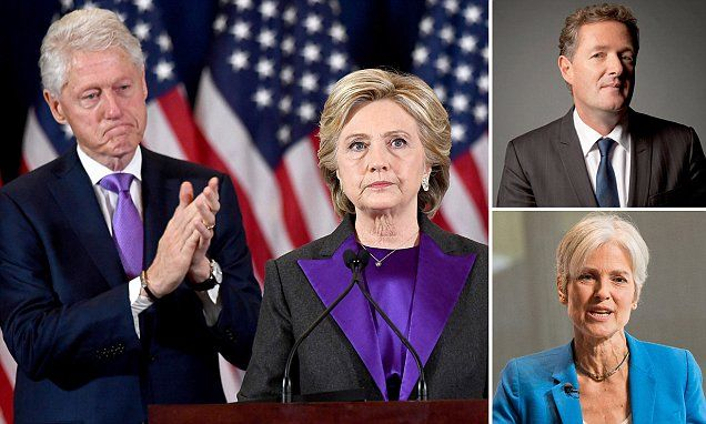 Hillary going along with the recount means she'll be TWO time loser. | These are some of the stories. See the rest @ http://www.twodaysnewstand.com/mail-onlinecom.html or Video's @ http://www.dailymail.co.uk/video/index.html And @ https://plus.google.com/collection/wz4UXB
