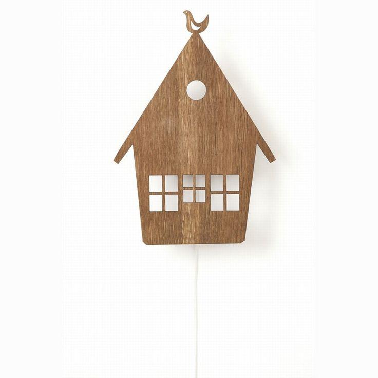 House lampe i gruppen Belysning / Lamper / Vegglamper hos ROOM21.no (112957)