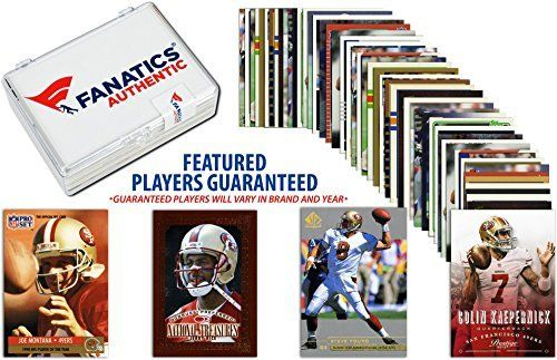 San Francisco 49ers Team Trading Card Block/50 Card Lot - Fanatics Authentic Certified - Football Team Sets