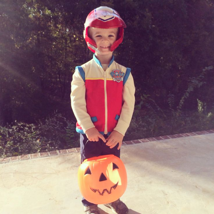 Homemade Halloween Costume: Ryder from Paw Patrol