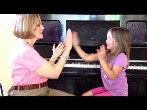Miss Mary Mack hand clapping game tru beats and rythm