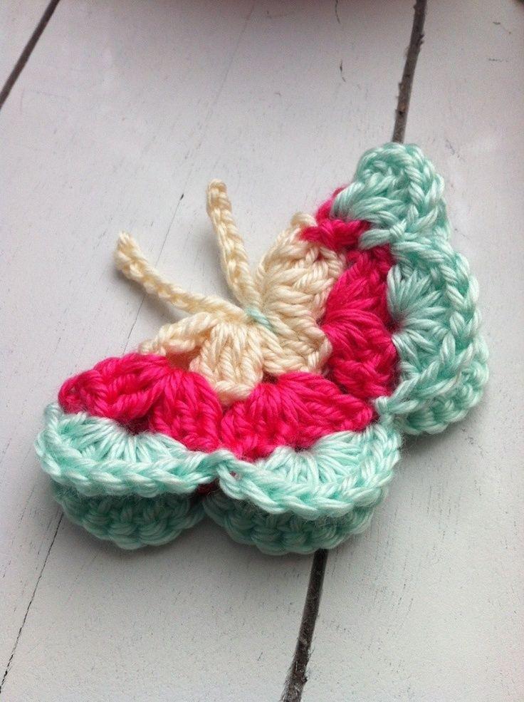 Cute Crochet Butterfly