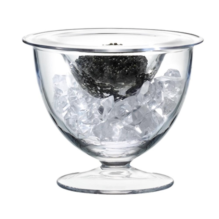 LSA - Serve Caviar Set - 14cm: Lsa International, Lsa Serving, Clear Glasses, Serving Collection, Glasses Serving, Caviar Sets, Comprehen Serving, Serving Caviar, Goblet