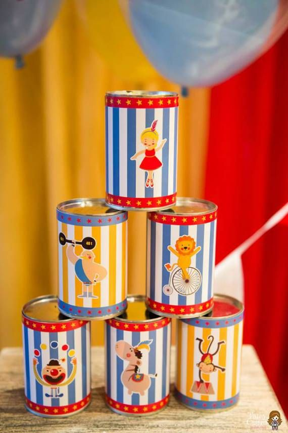 Circus Carnival Party Ideas