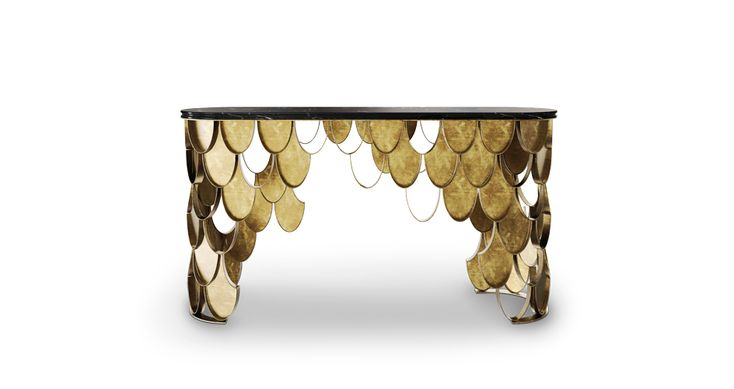 Koi console table by brabbu koi console tables and consoles for Koi furniture