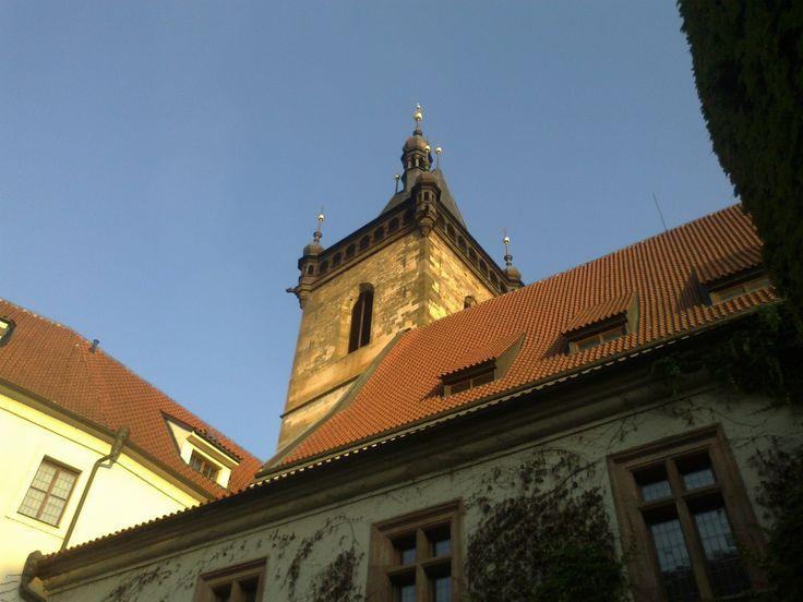 Praha - Novoměstská radnice (Café Neustadt)
