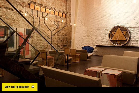 """funky Soho Synagogue!   """"We pray and we play"""" is the unofficial motto..."""