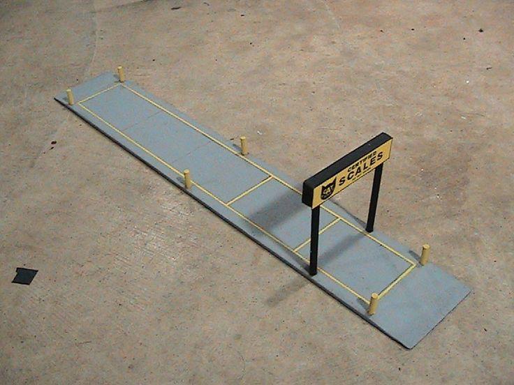 Custom 1:64 Truck Stop Truck Scales ERTL, DCP, Farm, First #Custom