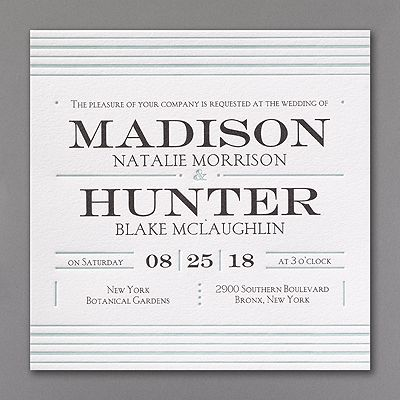 10 best Monogrammed Wedding Invitations images on Pinterest - printing on lined paper