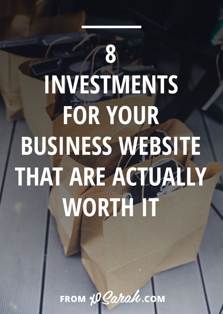 There are plenty free or cheap ways to get things done in your online business, but here are the top 10 things that will actually make a difference if you invest a little money in them.
