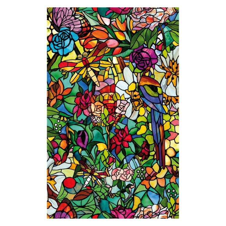 DC Fix Spring Chapel Window Wallpaper - Set of 2 - T346-0647