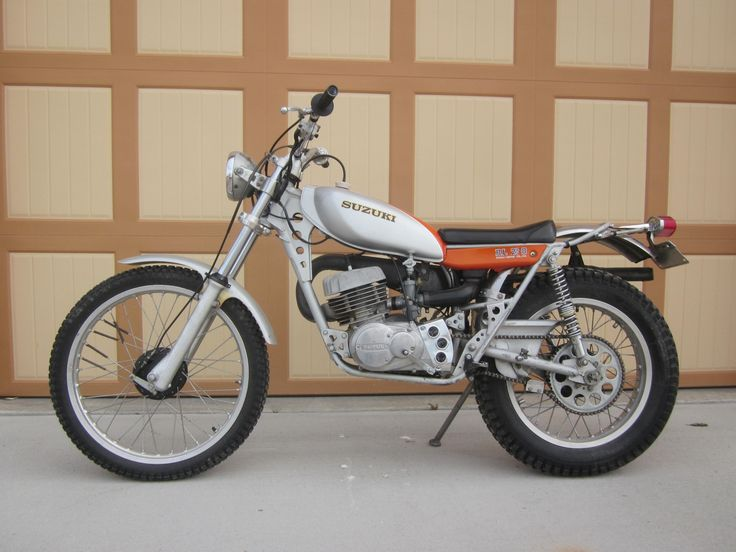 Awesome Vintage 1974 Suzuki RL 250 Exacta Trials Bike ...