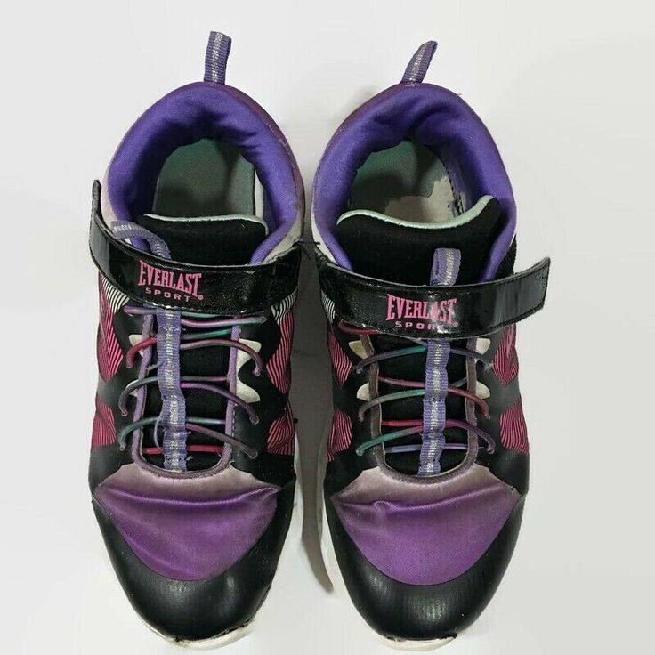 Everlast Sport Girls LA Lighted Sneaker Pink PurpleTennis