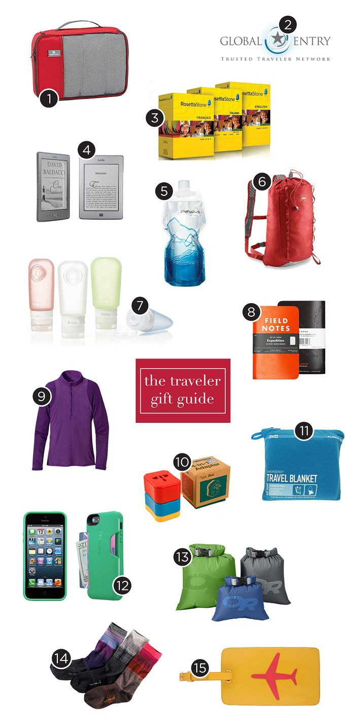 We are avid travelers and here are 25 great gifts for travelers.15 practical travel gifts we use,, 5 for extra pampering, and 5 travel gadgets.