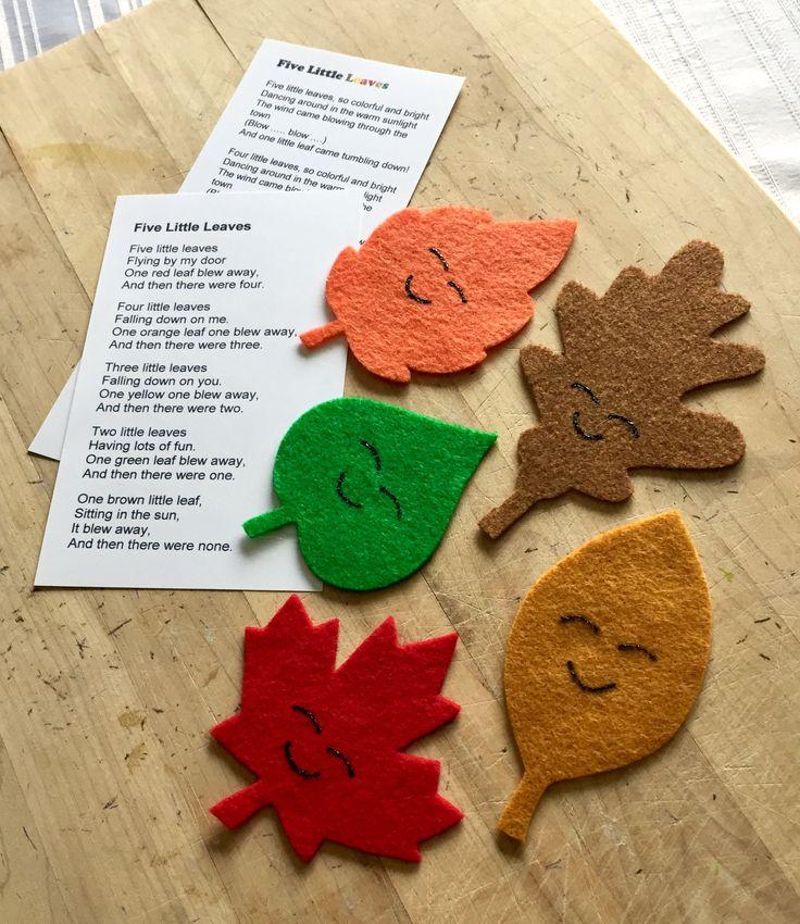 Five Little Leaves