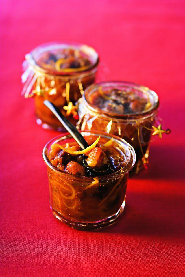 Confiture de fruits secs aux épices douces