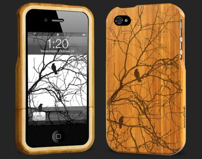 Wooden I phone case