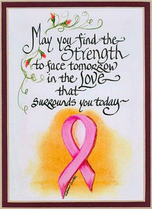 love the pink ribbon inspirational quotes for cancer