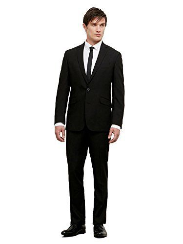 """Kenneth Cole REACTION men's black solid slim fit suit       Famous Words of Inspiration...""""As far as the laws of mathematics refer to reality, they are not certain, and as far as they are certain, they do not refer to reality.""""   Albert...  More details at https://jackets-lovers.bestselleroutlets.com/mens-jackets-coats/suits-sport-coats/suits/product-review-for-kenneth-cole-reaction-mens-slim-fit-suit/"""