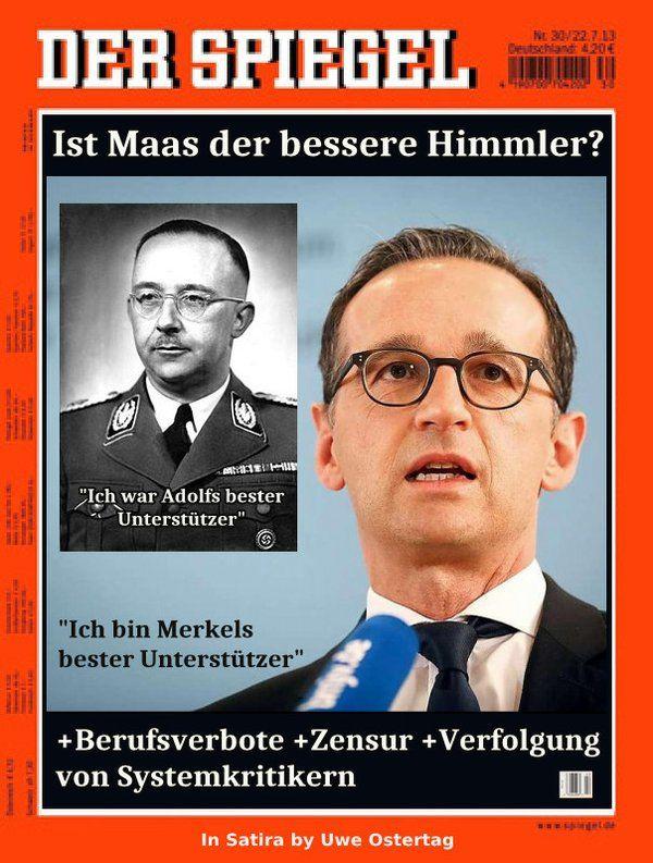 ohne Zensur: Maas vs. Himmler
