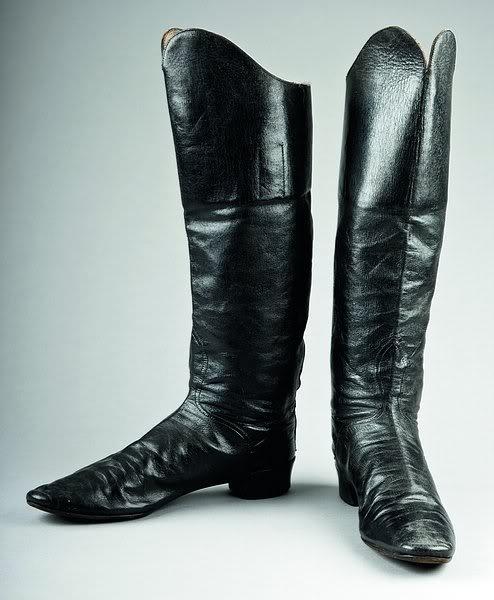 Hessian boots, c. 1850
