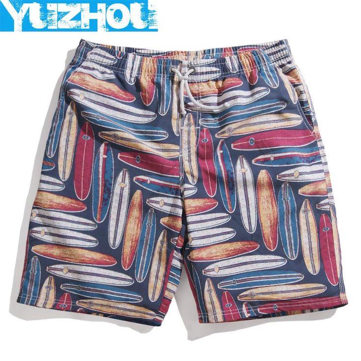 Yuzhou couples board shorts swimwear plavky mens bermudas sweat Geometric shorts running jogger praia bathing suit man swimsuit