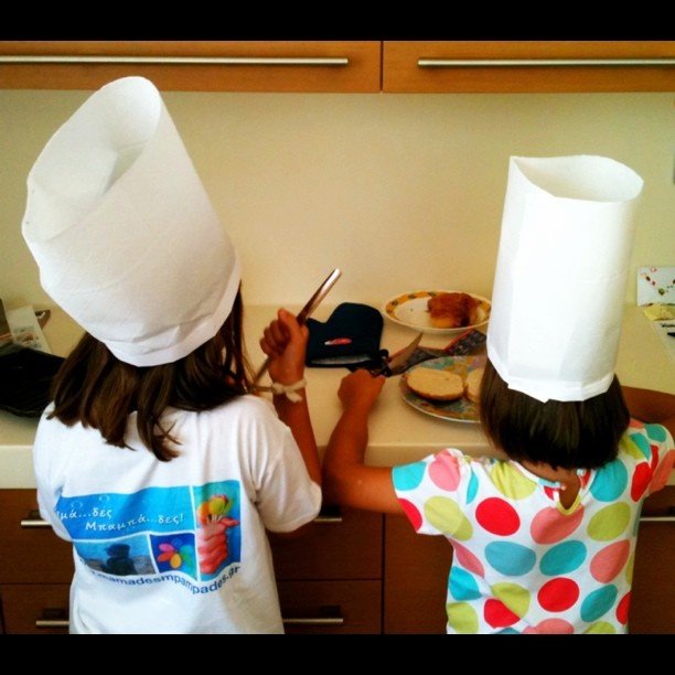 The children in Torey's class cooked every week.