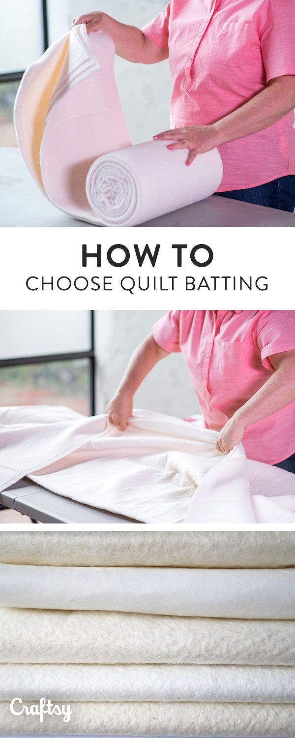 From cotton batting to polyester blends, the batting choices available to quilters are vast. Learn more about your options for choosing quilt batting.