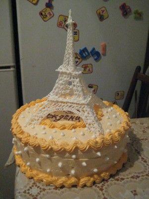 Торт «Эйфелева башня» : Торты, пирожные