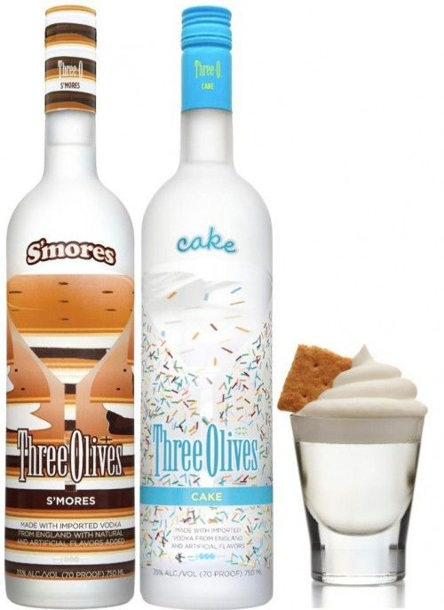 Happy Hour: It's adult time!  S'more Cake Shot...  For those times... #camping #outdoors
