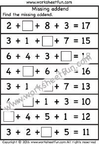 Times Table Worksheets – 1, 2, 3, 4, 5, 6, 7, 8, 9, 10, 11, 12, 13, 14, 15, 16, 17, 18, 19 and 20 – Twenty Four Worksheets / FREE Printable Worksheets – Worksheetfun