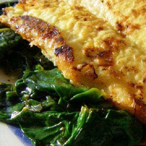 Petrale Sole Florentine - Powered by @ultimaterecipe