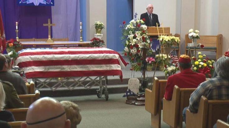 FOX NEWS: Hundreds attend funeral of 'abandoned' Vietnam veteran Purple Heart recipient