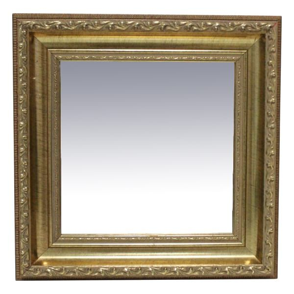 Patricia Petite Gold Square Mirror Petite Gold Ornate Framed Mirror Inside 7 5x7 5 Dimensions 12 X 12 Square Mirror Mirror Rental Decorating