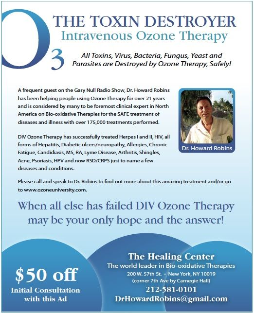 "I've been curious about this: ""Intravenous Ozone Therapy.  Wouldn't it be great if there were a natural medicine that safely destroyed every bacteria, fungus, yeast and mold with virtually no adverse reaction? And what if it also destroyed every toxin, harmful free radical, and parasite in the body safely as well? One such treatment does exist and has been used by thousands of physicians in over 45 countries for over 70 years."" (Article) - another pinner."