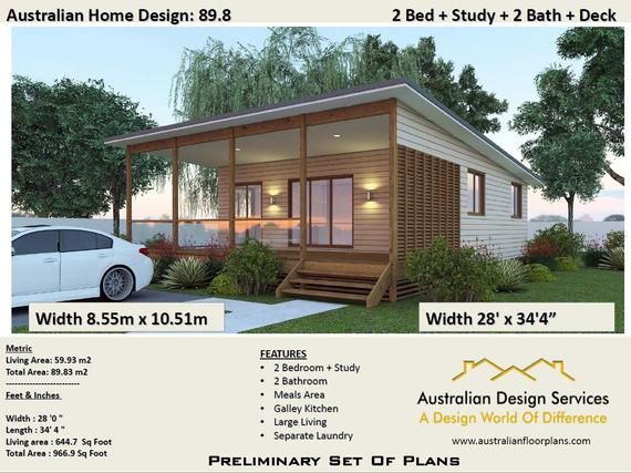 Peachy 89 8 M2 Or 966 Sq Foot 2 Bedrooms 2 Bathroom Granny Flat Interior Design Ideas Gentotryabchikinfo