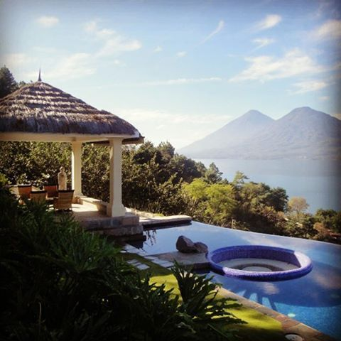Luxury vacation rental, Lake Atitlan Guatemala.  #luxuryresorts #luxuryvacation #guatemala #lakeatitlan #seeyouinguatemala #swimmingpools #luxury #travel #vacation #holiday #yoga #hikingadventures #hikers #panajachel #picoftheday #photoofday #photos #australia #tourism #toronto #nicaragua #newyorkcity