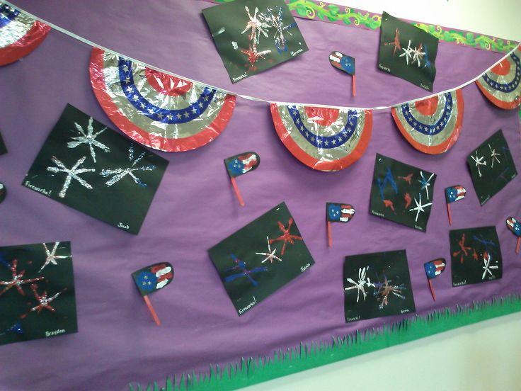4th of july bulletin board ideas