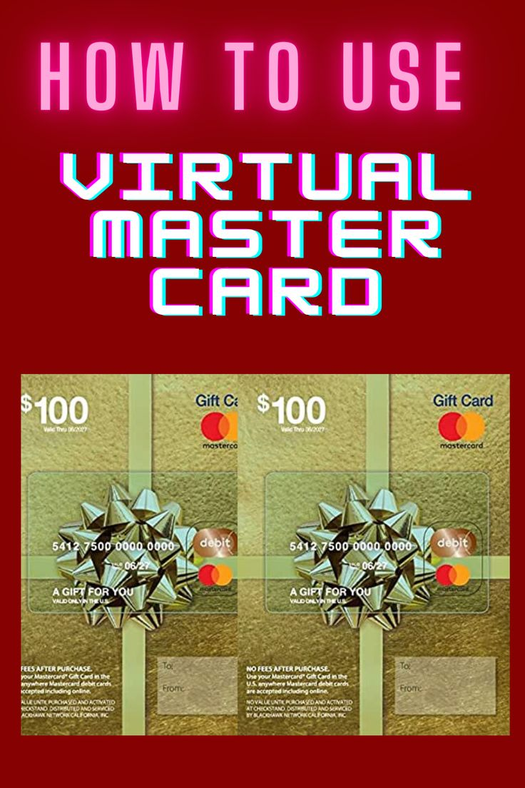 How to use virtual mastercard gift card in 2020