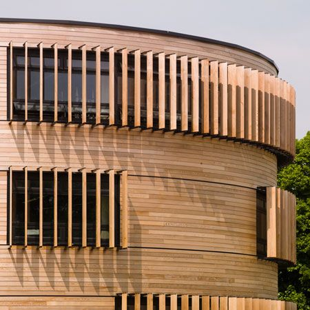 Wood Clad Science Academy Showcases Sustainable Design