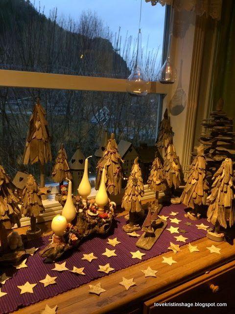 Tove Kristins Hage: Pakker til årets julemarked, på Namdalsmuseet :) G...
