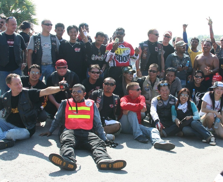 National day ride Thailand