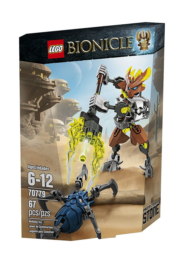 Amazon.com: LEGO Bionicle 70779 Protector of Stone Building Kit: Toys & Games