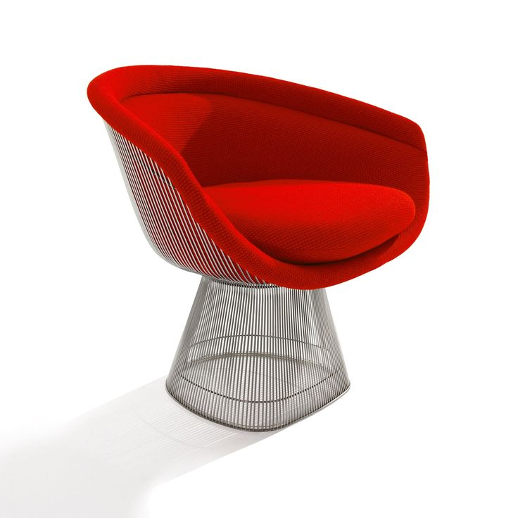 Platner chair. In the 1960s, Warren Platner transformed steel wire into a sculptural furniture collection, creating what is now considered a design icon of the modern era.