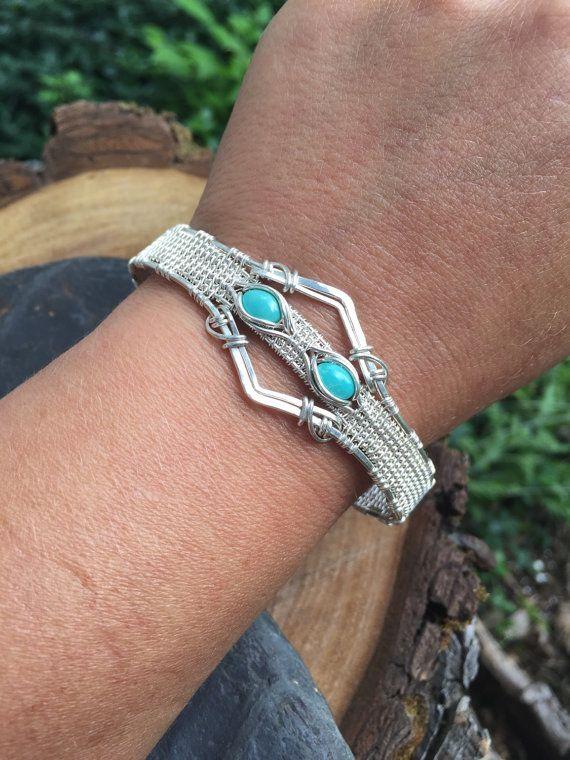 420 best Wire bracelets images on Pinterest | Wire bracelets, Wire ...