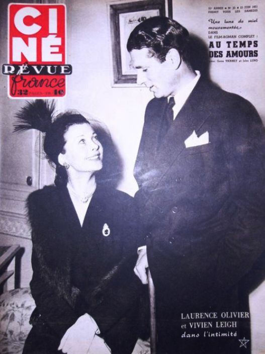 In My Own Vintage — Vivien Leigh and Laurence Olivier.