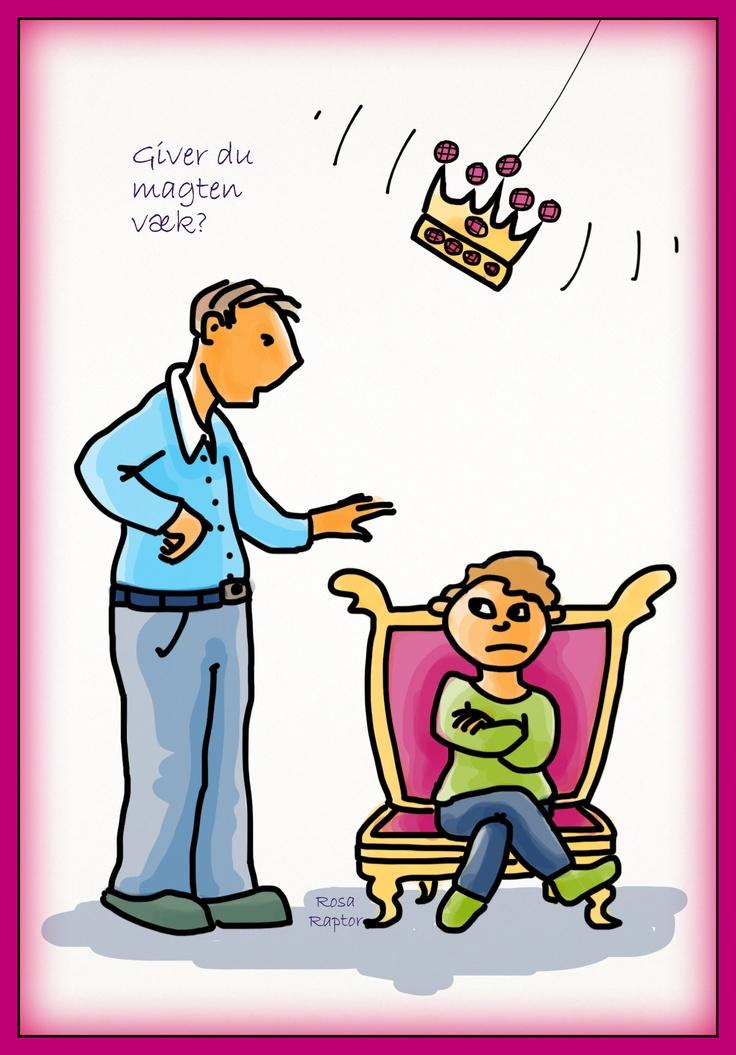 Giver du magten væk? læs mere på Tal med dit barn på den fede måde